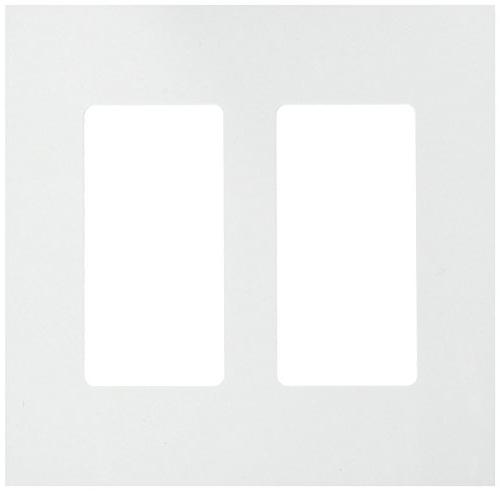 Enerlites Decorator Plate Child Standard Size 2-Gang, Thermoplastic, SI8832-W