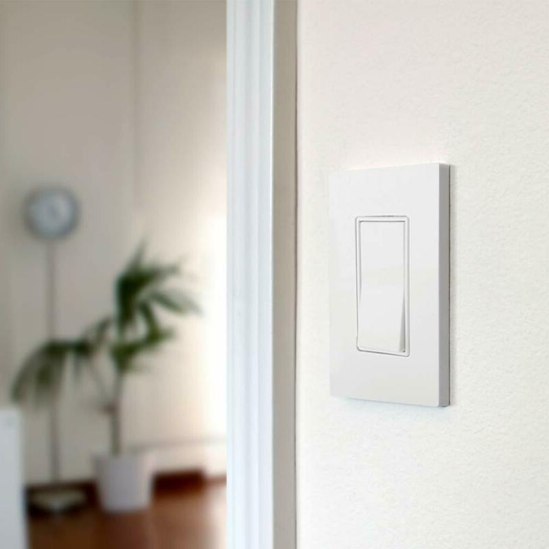 Single-Pole Light Switch By Interrupter, Screw