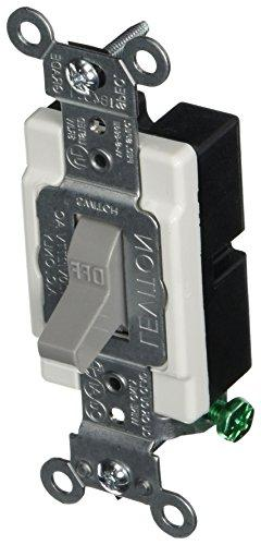 Leviton Single Pole Toggle Switch | CS115-2GY