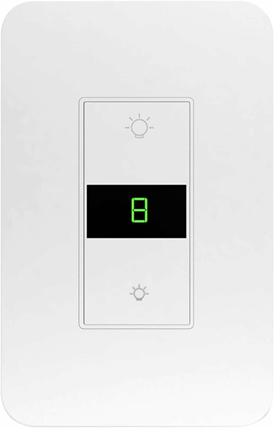 smart dimmer light switch works with alexa