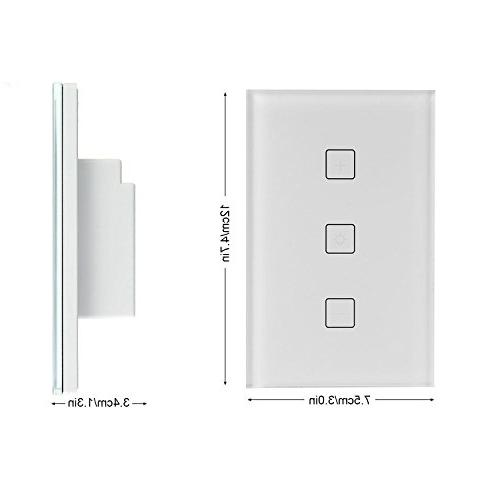 Teepao Smart Dimmer Switch, Wireless Wifi Touch Dimmer