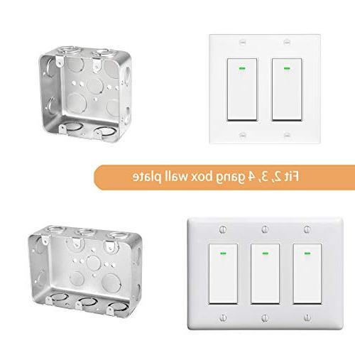 Smart Switch, with and Home, Timing 1/2/3/4 Micmi