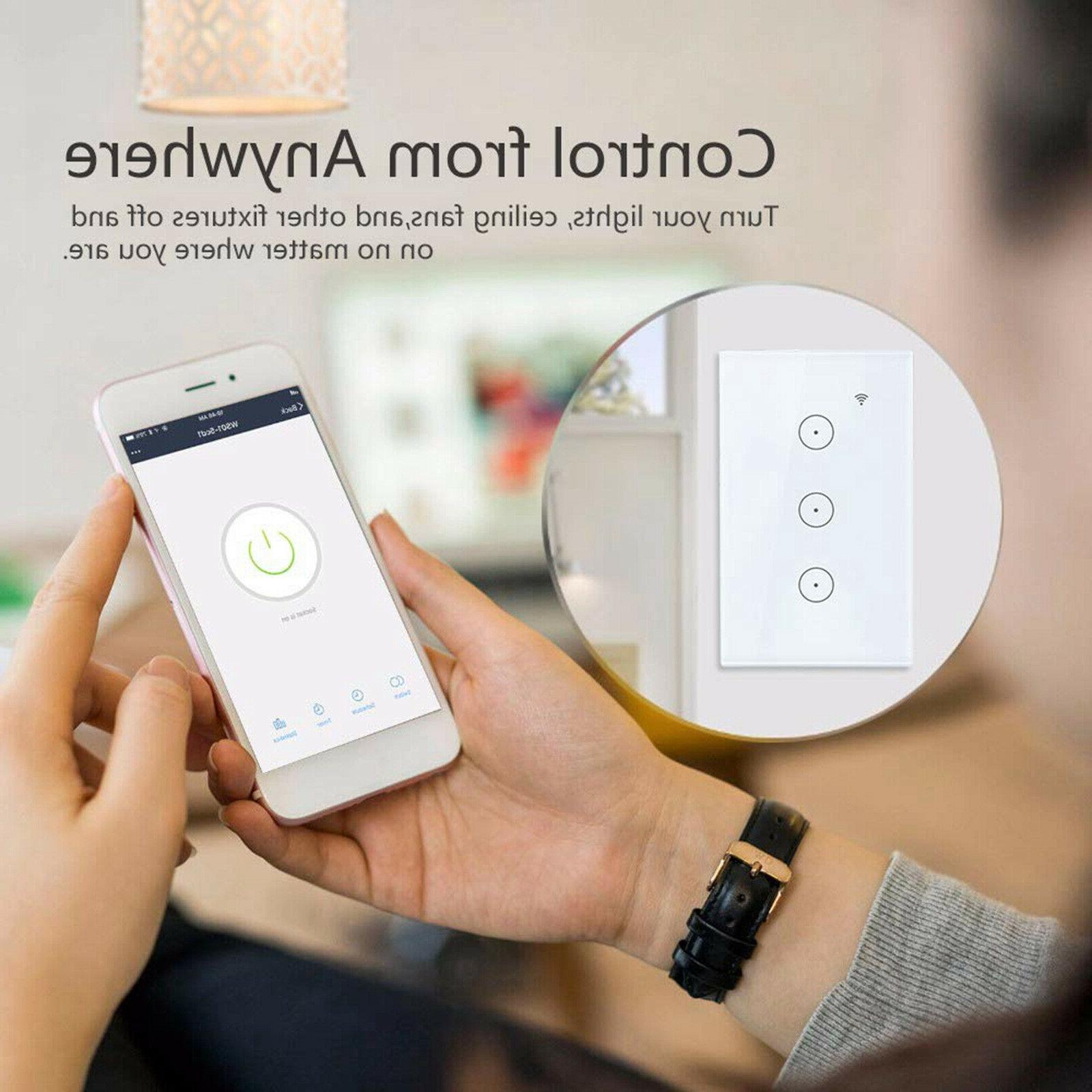 Smart Switch Wifi With Smart Wall Smart life Gang
