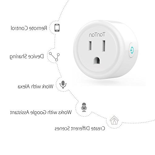 Smart TanTan WiFi Enabled Smart Socket, Work Amazon and Assistant, Hub Required, Control ETL