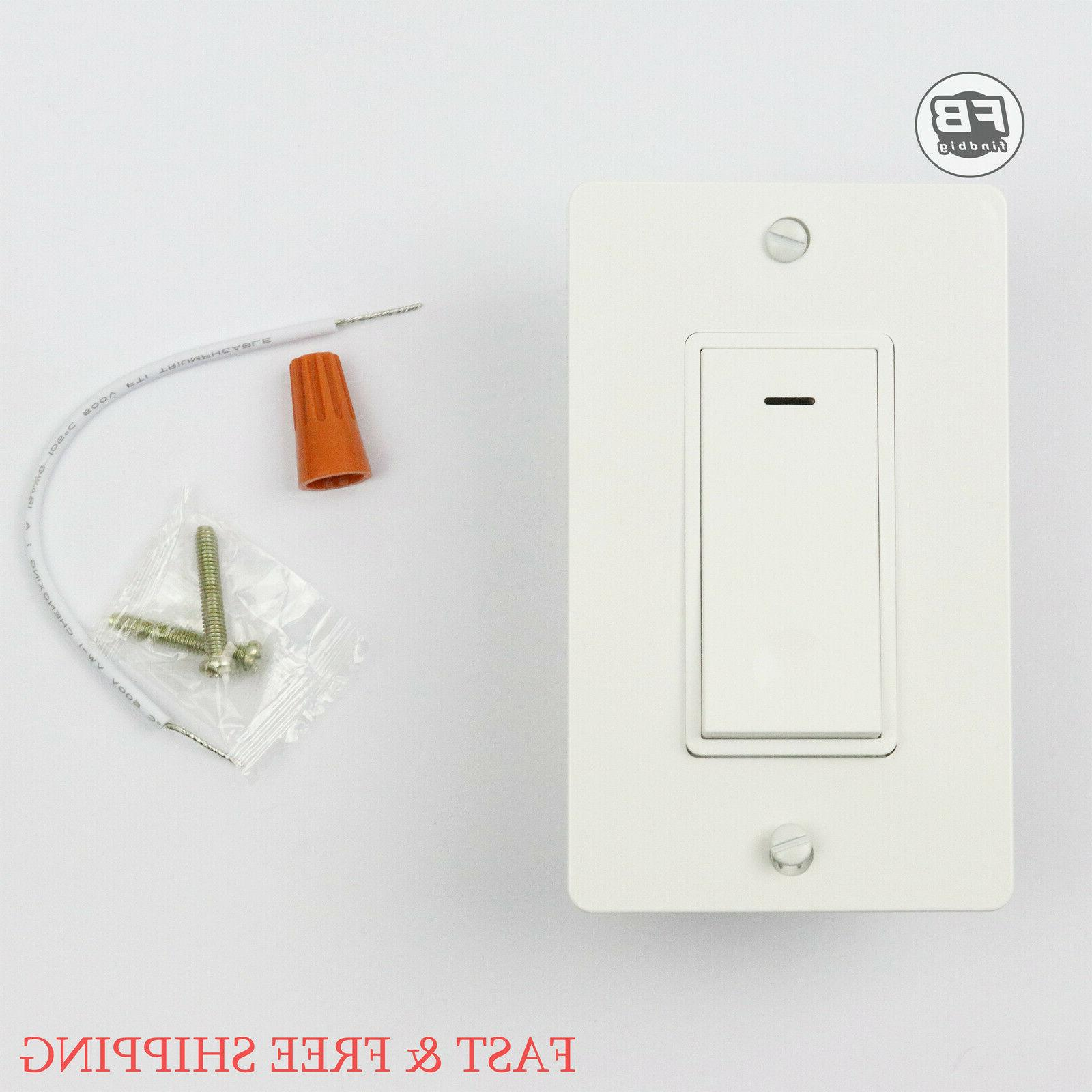 Smart Switch Wall Light WIFI Remote For Alexa & Google IFTTT