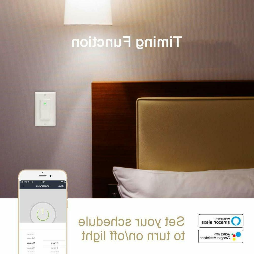 Smart Light Wall Switch Panel For