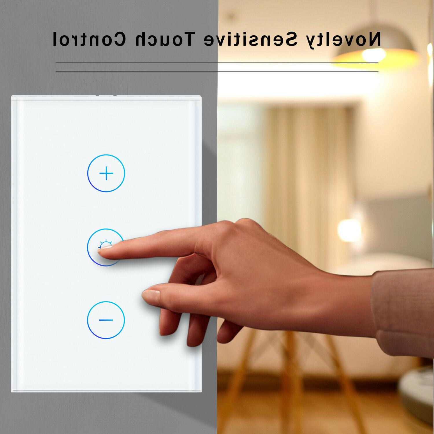 Smart Touch LED Dimmer Panel Google Home IFTTT