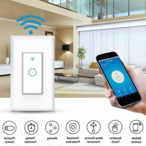 smart wifi light switch voice control work