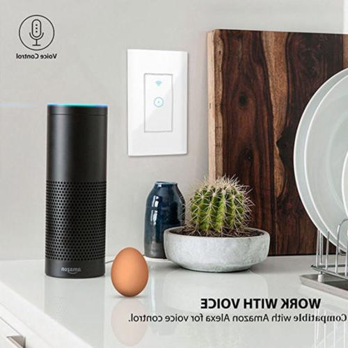 Smart WIFI Wall Switch Works Google Home IFTTT life