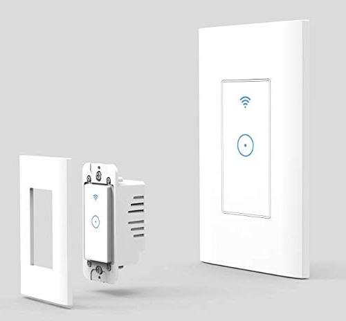 smart wifi switch light wall