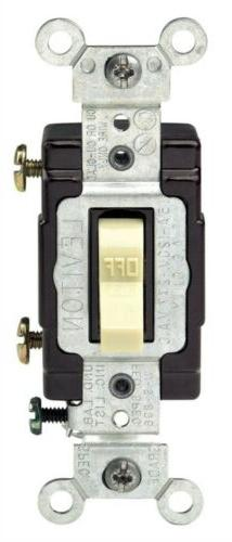 Switch Tog Lighted 15a Iv