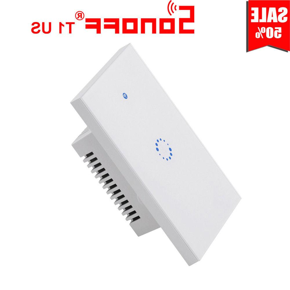 Sonoff US 1/2/3 Gang Touch Light Switch APP Remote Control