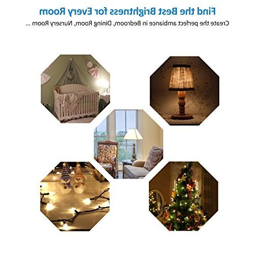 DEWENWILS Switch Dimmable LED/CFL Lights, and Bulbs, Range Control, 6.6 Cord, Listed, White