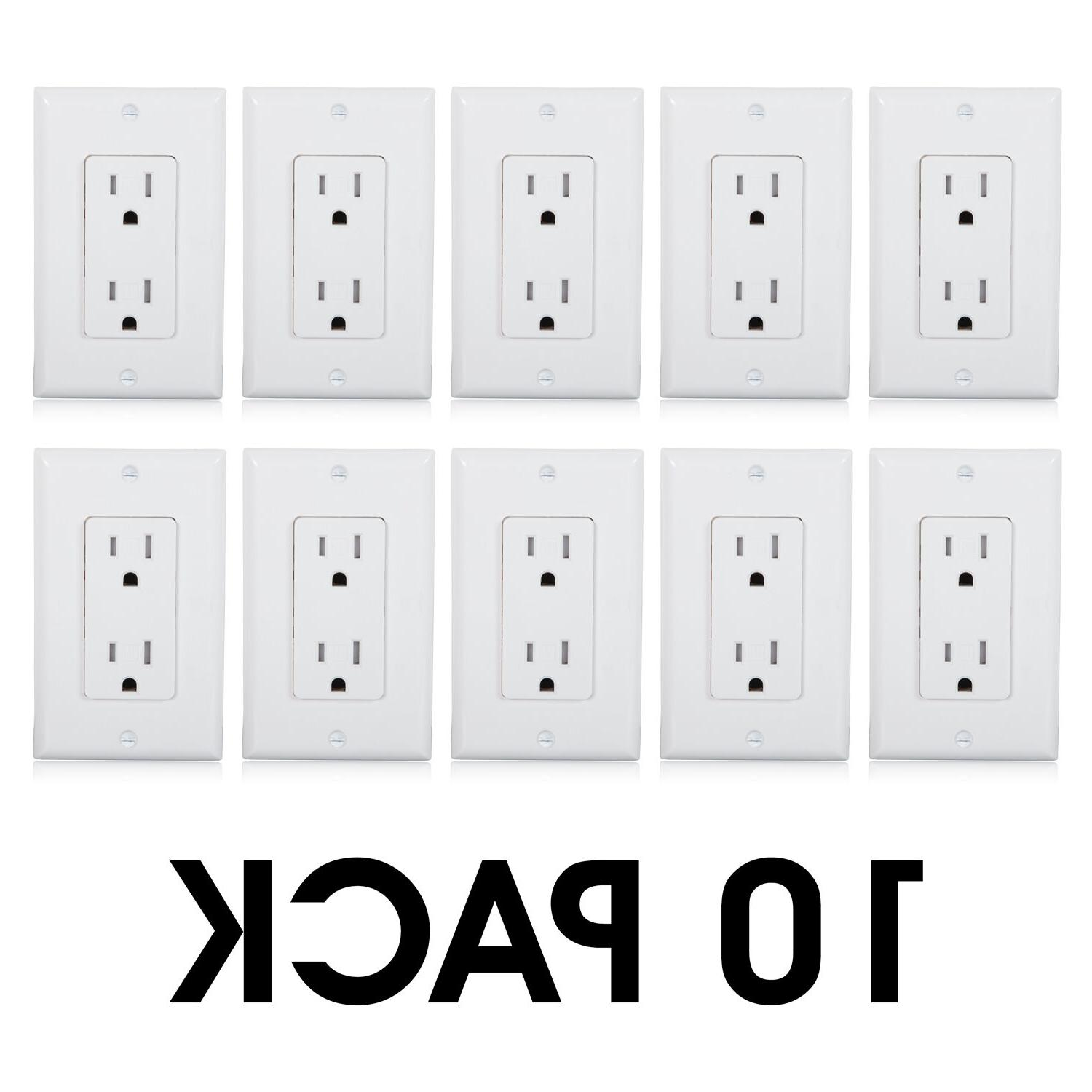 Maxxima Resistant Outlet Receptacle Plate