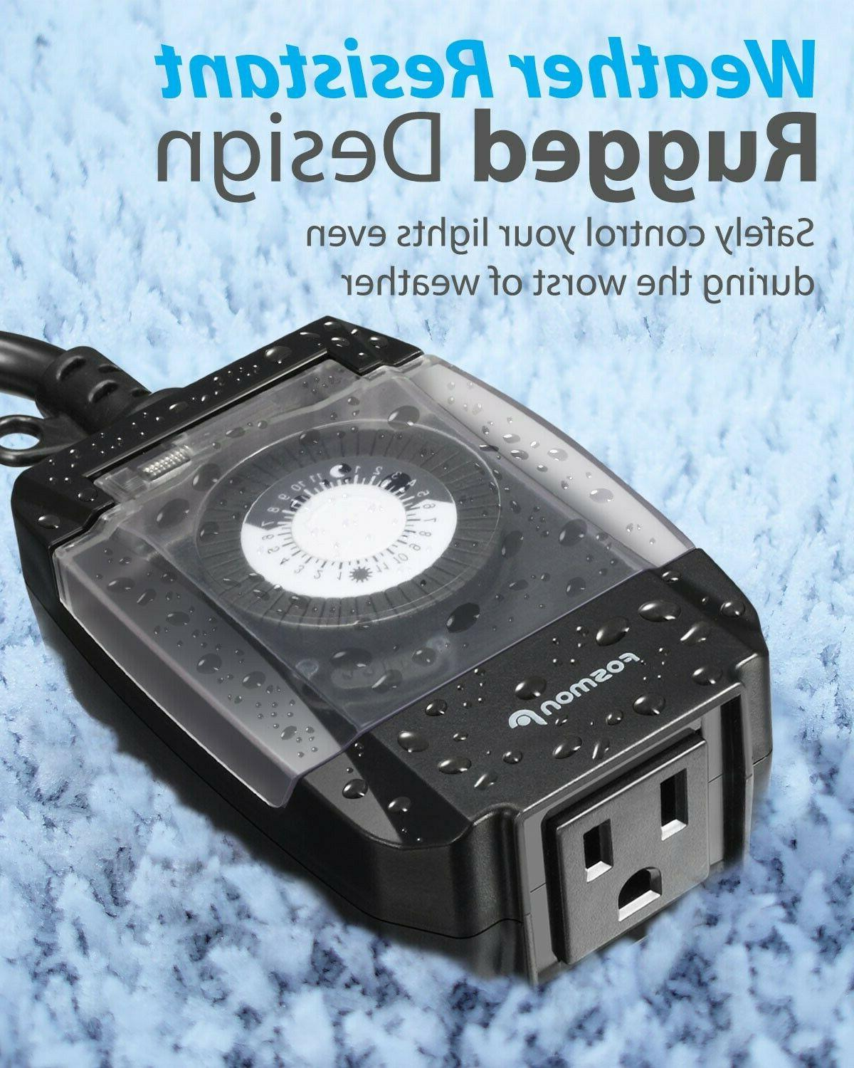 24 Outlet Timer Switch