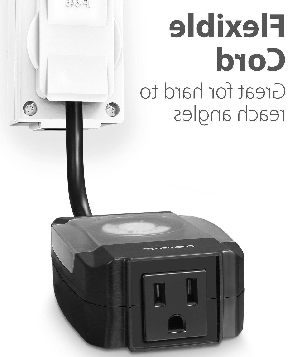 Outdoor Outlet Timer Switch