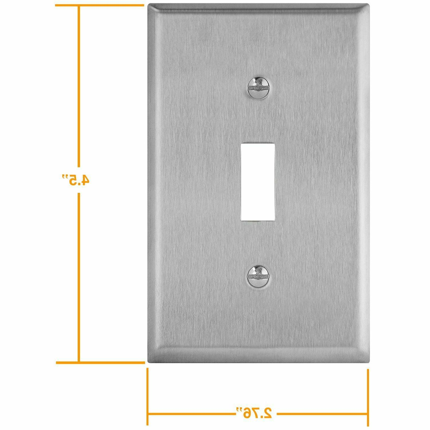 Toggle Switch Stainless Steel Plate Resistant 10