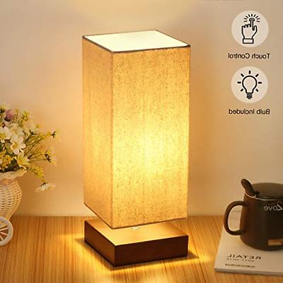 Touch Control Table Lamp Bedside 3 Way Dimmable Touch Desk L