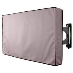 "TV Cover Grey Outdoor Waterproof 36"" - 38"" for LCD, LED, Pla"