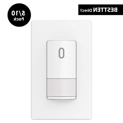 ul occupancy motion sensor wall light switch