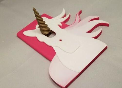 Unicorn cover plate bedroom decor