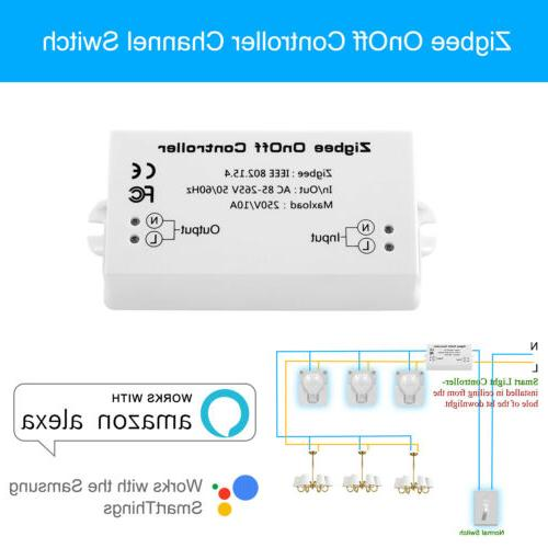 US Zigbee Smart Home Automation light controller Single Chan