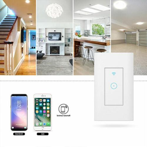 USA WiFi Light Switch in Wall Compatible With