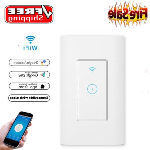 USA WiFi Light Switch in Compatible With & home
