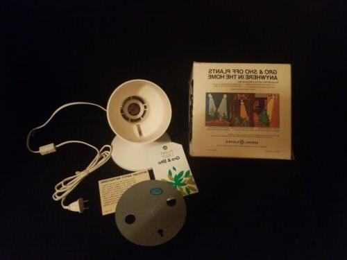 "Vintage ""GE""- Plant & Kit/ on/off switch & cord New"