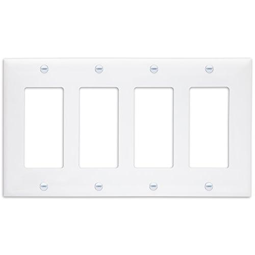 w decorator switch receptacle wall