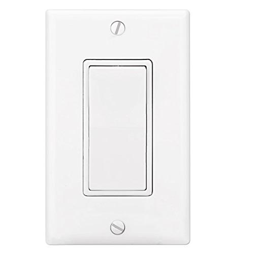 Switch , Decor Pole for Lamp, Residential & Commercial UL White