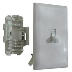 white speed toggle switch
