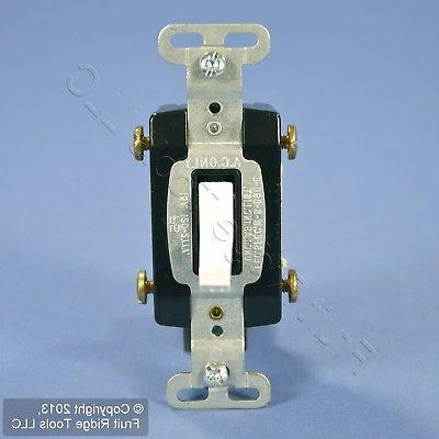 white commercial 4 way toggle light switch