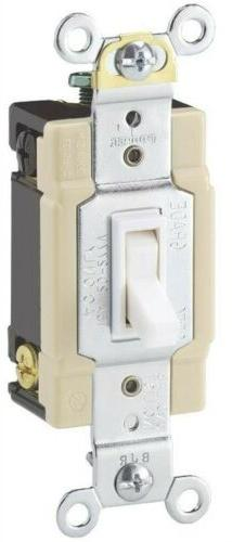 4way Wht Quiet Toggle Switch