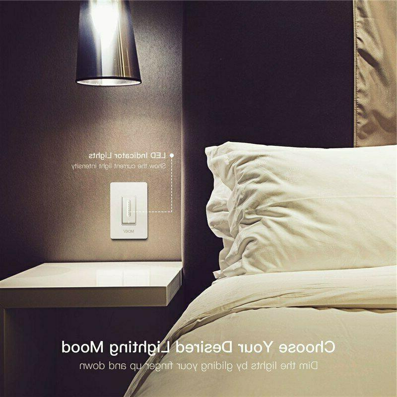 WiFi Smart Light Dimmer Switch Control Voice