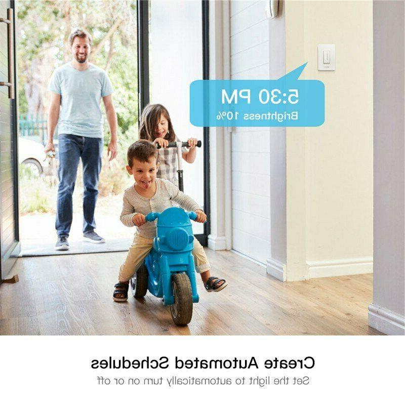 WiFi Light Switch Smart Wireless