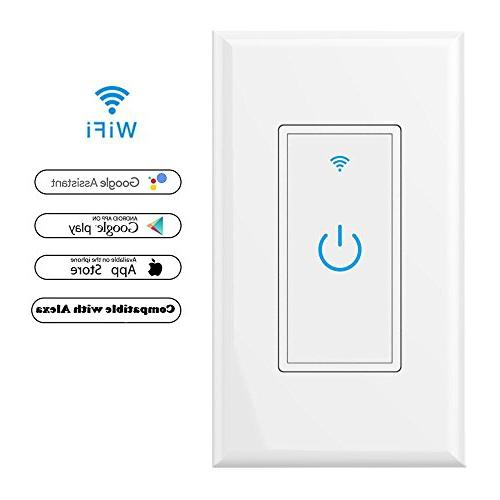 wifi smart light switch wall