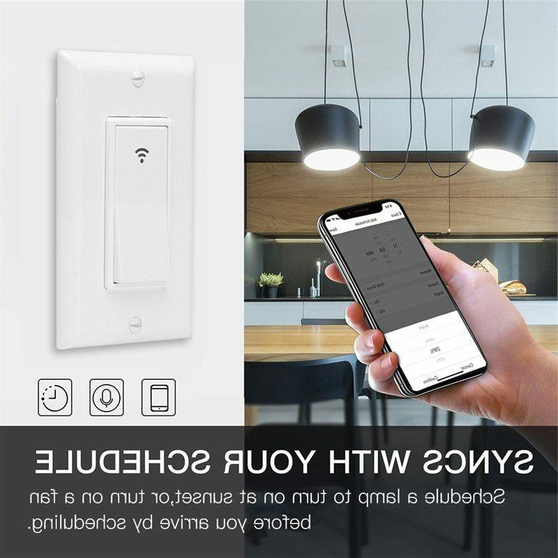 WiFi Smart Switch with Home
