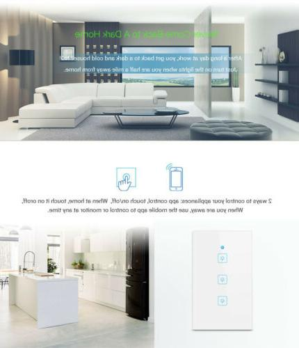 WIFI Smart Touch 1/2/3 Home