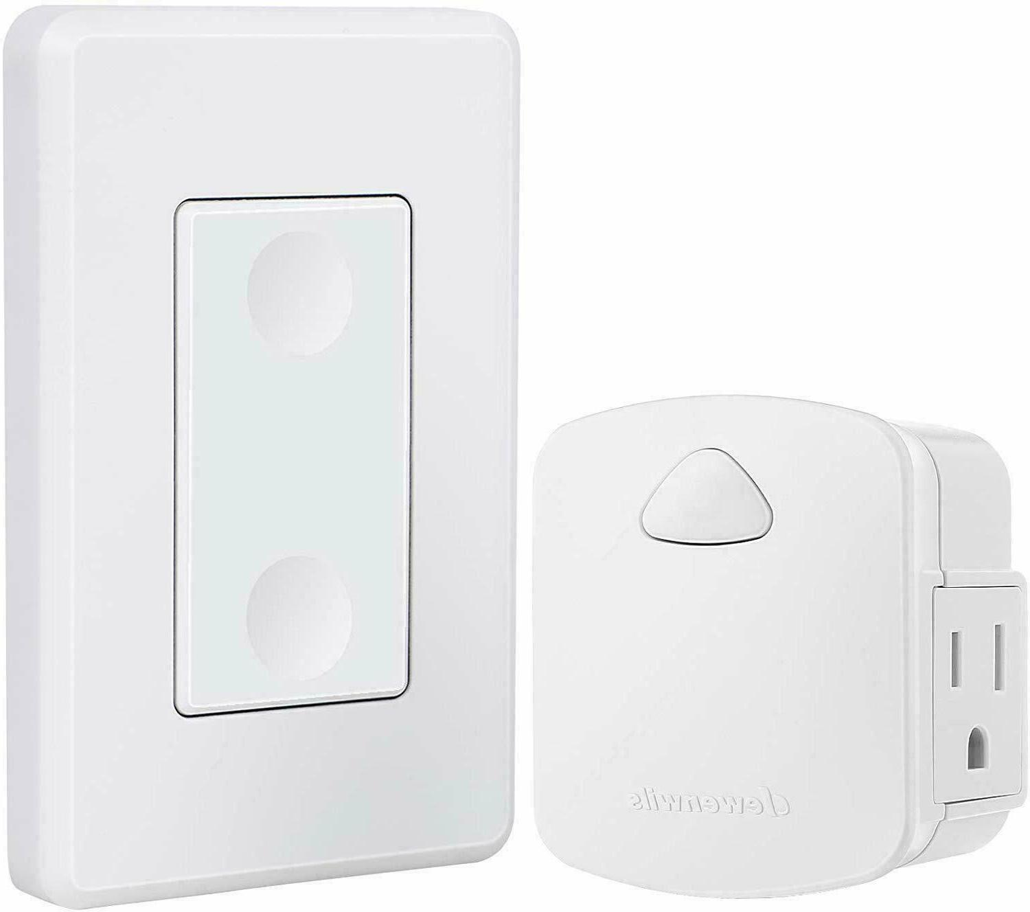 wireless outlet wall switch remote control light