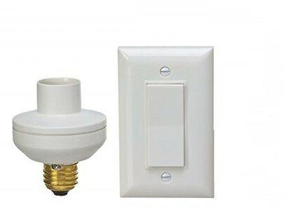 Wireless Remote Control Light Switch and Socket Cap to Turn