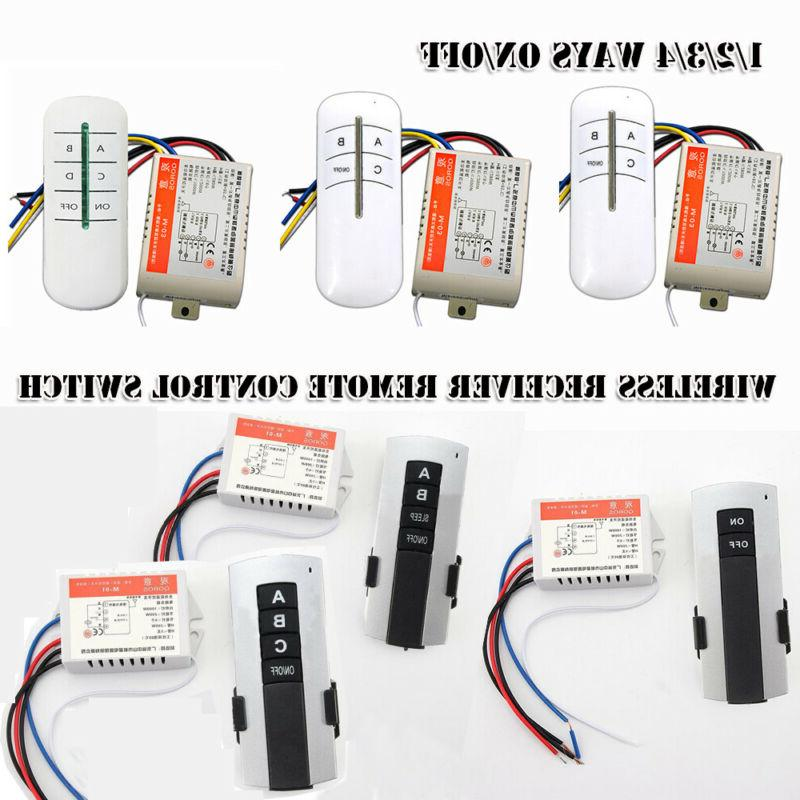 wireless transmitter bulb controller lamp receiver remote
