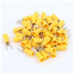 45 Pcs Yellow Electrical Crimp Wire Connector 12-10AWG Insul