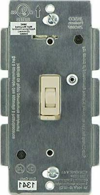 Jasco Z-Wave Dimmer Wall Toggle Switch, No Neutral, Light Al