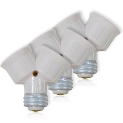 Maxxima Light Bulb Socket Splitter For LED, CFL and Standard