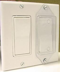 Light Switch Cover Guard Lock-Rocker Switch -Free Shipping