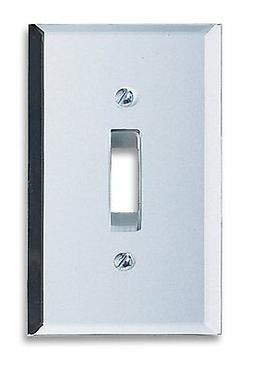 Light Switch Plate Cover Amerelle Clear Mirror Finish Toggle