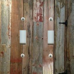 Light Switch Plate Cover RUSTIC HOME DECOR WESTERN BARN WOOD