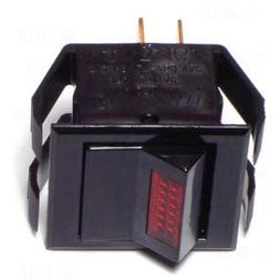 Lighted On/Off Rocker Switch