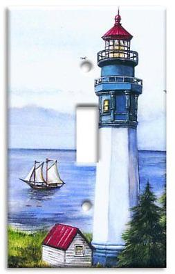 Art Plates - Lighthouse Switch Plate - Single Toggle